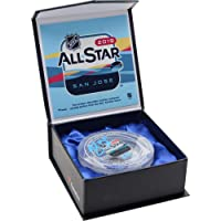 $89 Get Brent Burns San Jose Sharks Autographed 2019 All Star Game Crystal Puck Filled with Ice from The 2019 NHL All-Star Game - Limited Edition of 19…