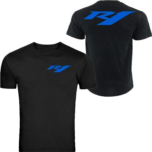 Yamaha Racing Black TEE YZF R1 R6 YFZ Banshee Unisex Black S 5XL T-Shirt Tee