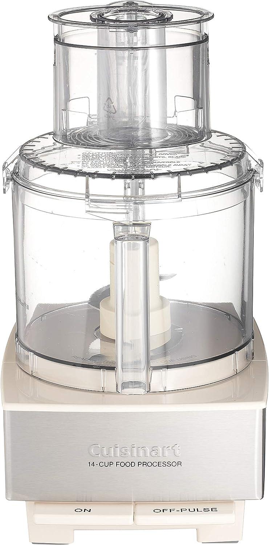 Cuisinart DFP-14CRM 14-Cup Food Processor, Cream (Renewed)