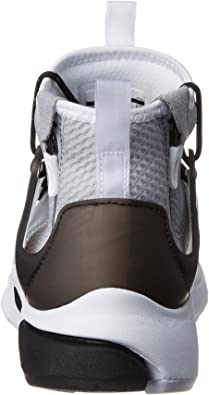 Nike, Uomo, Air Presto Mid Utility Wolf Grey, Tessuto tecnico, Sneakers, Grigio