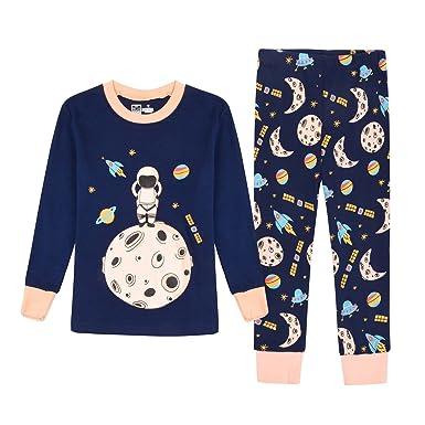 Amazon.com  KONGKA Girls Boys Pajamas Set 5ea3c4d64