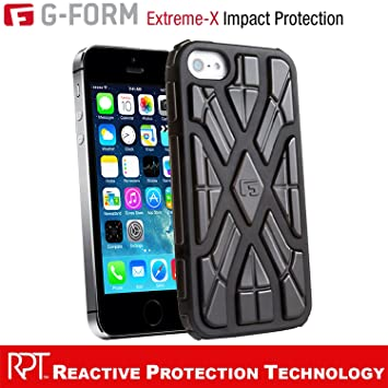 G-Form EXTREME-X Ruggedized Protective Case for Apple iPhone 5 ...