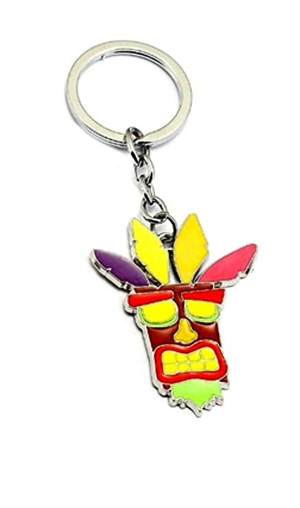 Amazon.com: Crash Bandicoot Keychain Key Ring Game Gaming ...