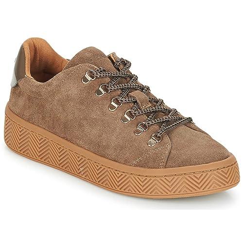 NO Name Ginger Sneaker Zapatillas Moda Mujeres Marrón - 37 - Zapatillas Bajas: Amazon.es: Zapatos y complementos