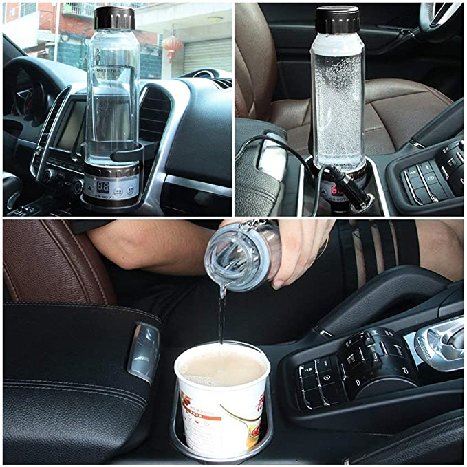 12v Portable Car Kettle Set Motor Home Water Heater Boiler For Tea Coffee Maker Firm In Structure Mouldings & Trim Parts & Accessories