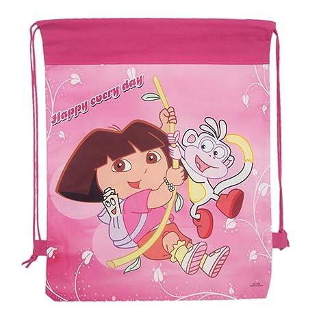 Sabka Bazaar Dora Dori Bag Sack For Birthday Return Gifts Kids Pack Of 12 Amazonin Toys Games