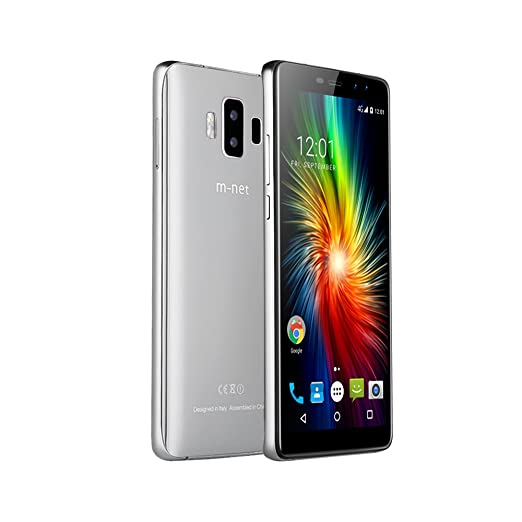 """4 opinioni per m-net Pure 1 Schermo Intero 2GB + 16GB 5.7"""" 4G Cellulari 4380mAh Smartphone"""