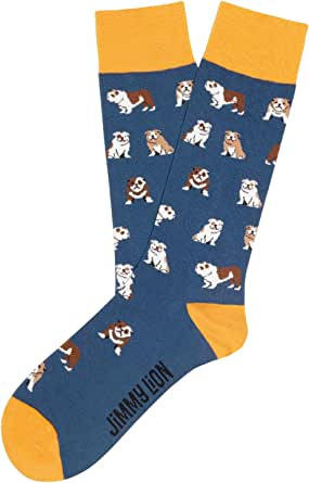 Jimmy Lion Calcetines de Animales fabricados en algodón peinado. Tallas 36-40 | 41-46 en media caña.