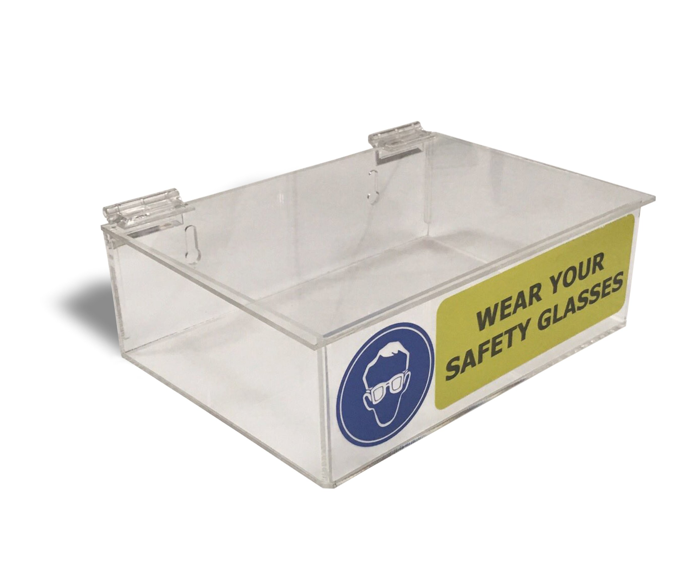 Acrylic Safety Glasses Dispenser