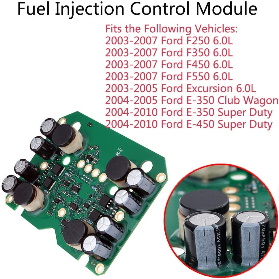 Fuel Injection Control Module 904-229 Fits Ford F250 F350 F450 F550 Excursion 6.0L Diesel Super Duty Replaces 904229