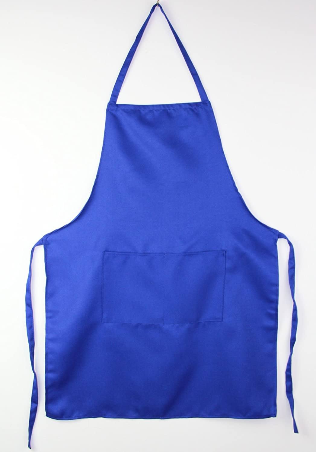 Brand New Womens Mens Royal Blue Tabards Apron Kitchen Work Restaurant Cafe