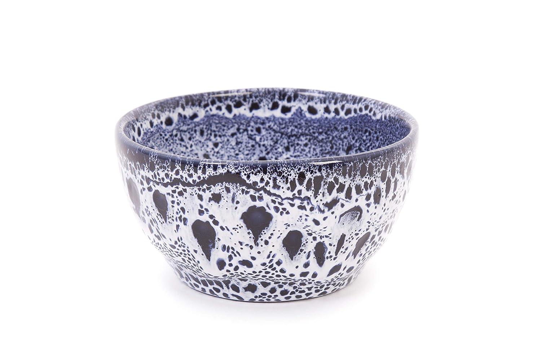 Coppa Club Blue Speckled Small Salad Bowl 21cm Dia x 10.5cm H