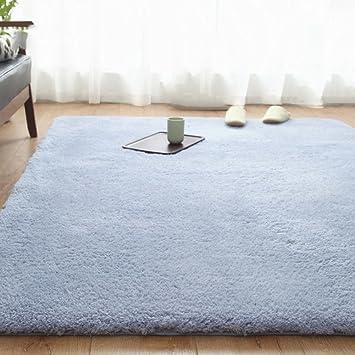 Amazon.de: LJ&XJ Volltonfarbe zottige teppiche, Europäischen stil ...