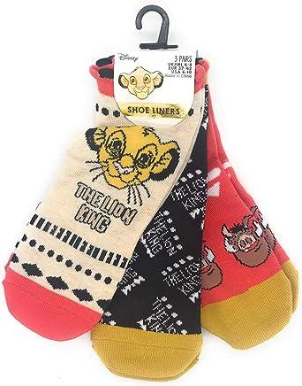 Primark - Calcetines tobilleros para mujer, diseño de Disney Lion King Simba
