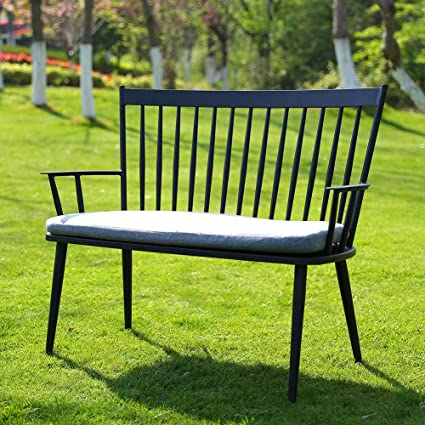 Phenomenal Amazon Com Rose Garden Patio Chair Outdoor Bench Rust Free Gmtry Best Dining Table And Chair Ideas Images Gmtryco