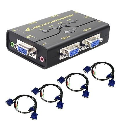 Computer-peripheriegeräte Heißer Verkauf Usb 2.0 4 Port Teilen Sharing Switch Switcher Selector Box Hub Für Pc Scanner Drucker