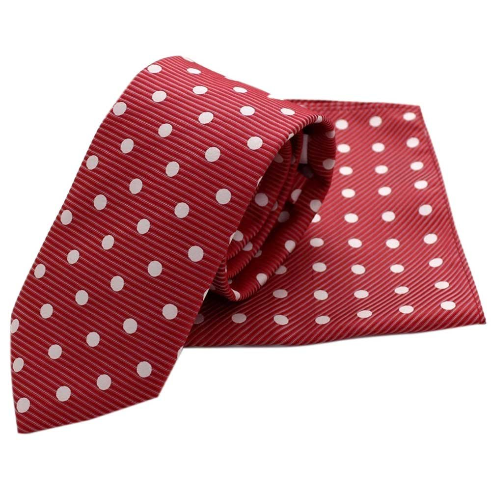 Conjunto Corbata y Pañuelo topos: Amazon.es: Ropa y accesorios