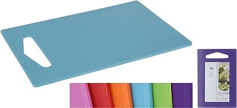 Schneidebrett 24 x 34 cm verschiedene Farben Kunststoff