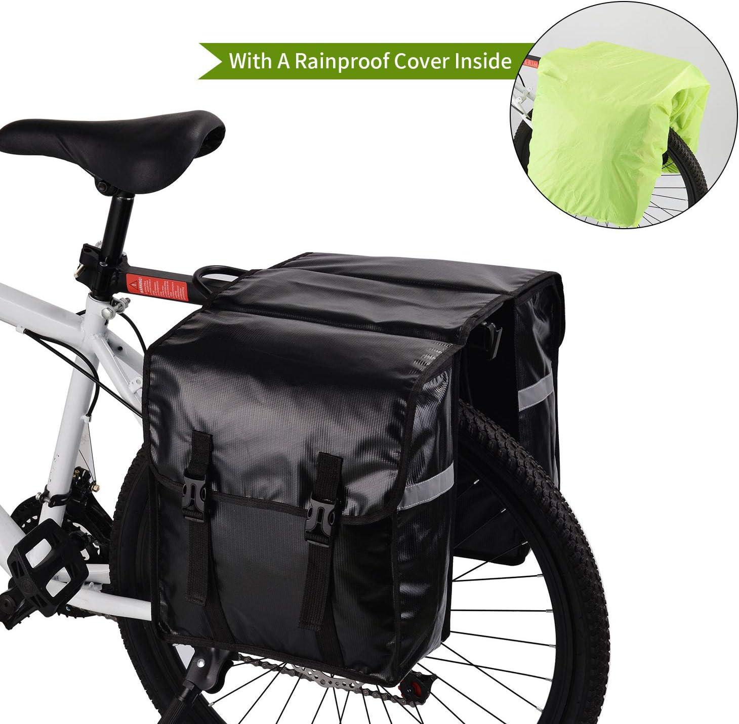 WILDKEN Alforjas para Portaequipajes de Bicicleta, Bolsas Traseras ...