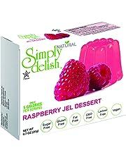 SIMPLY DELISH Jel Dessert, Raspberry, 20g