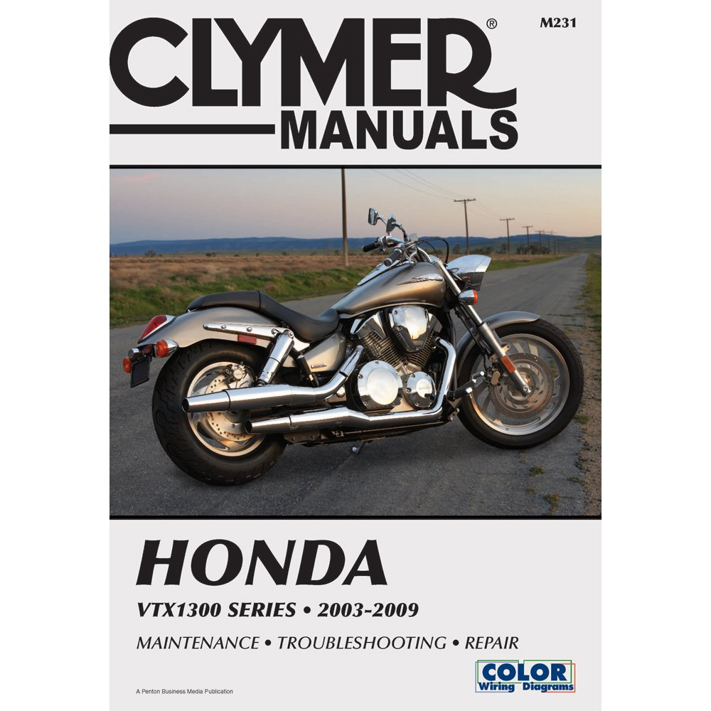 71yjsCkBoJL._SL1000_ amazon com clymer repair manual for honda vtx1300 c r s t 03 09 2007 honda vtx 1300 r wiring diagram at n-0.co