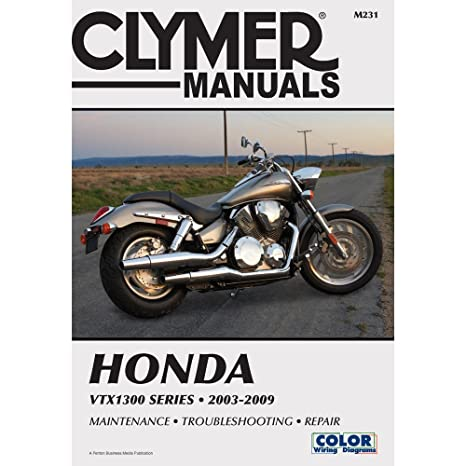 amazon com clymer repair manual for honda vtx1300 c r s t 03 09 rh amazon com 2005 honda vtx 1300c service manual pdf 2005 honda vtx 1300c service manual pdf