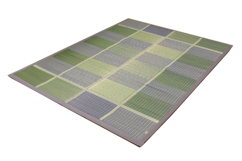 イケヒコ い草ラグ カーペット 国産 『FUBUKI』 グリーン 約191×250cm B00KD24NGC グリーン