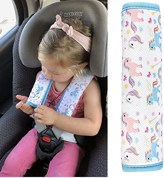 1x HECKBO cinturón de coche unicornio protector de la niña ...