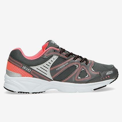 Zapatillas Running IPSO TECH Gris Mujer (Talla: 40): Amazon.es: Deportes y aire libre