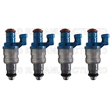 AAP Re-Manufactured Set of 4 Genuine Siemens Turbo Fuel Injectors for 03 04 05