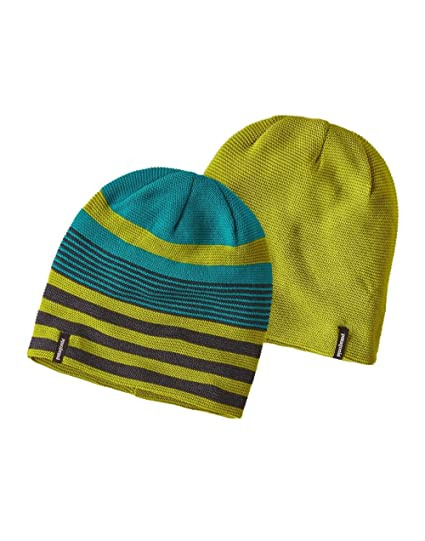 720f9bed3f3 Patagonia Glade Beanie Spindrift Stripe  Elwha Blue ALL  Amazon.it ...
