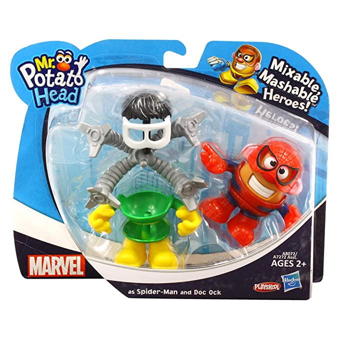 Marvel Comics [Mini Mr. Potato Head] conjunto DX / Spider ...