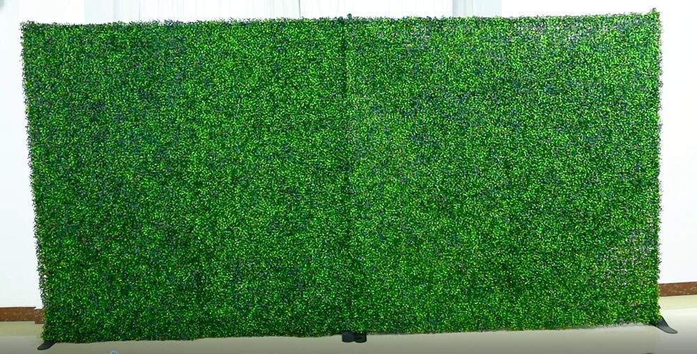 8x8 Feet Artificial Boxwood Hedge Backdrop Wall, Greenery Decor Wall for Party Decor/Event Wall/Birthday/Wedding/Photo Studio Background Wall (8ftx8ft) by Fancy Hedge