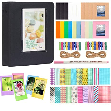 Anter Photo Album Accesorios para Fujifilm Instax Mini Camera, HP ...