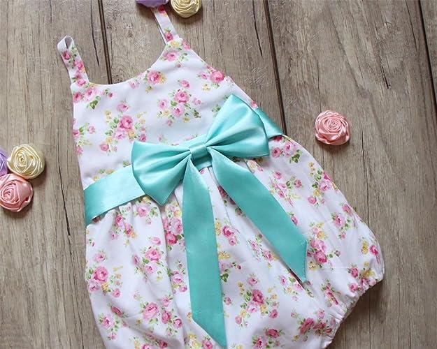 329d97929947 Amazon.com  Peony Baby Girl Romper Flower Bubble Romper Birthday Gift   Handmade