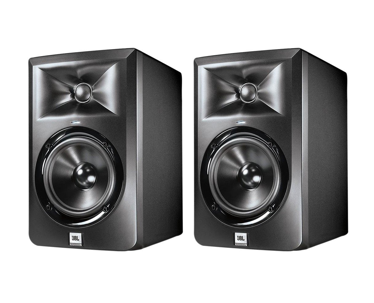 JBL 305P MKII 5'' 2-Way Powered Studio Monitor Pair (5'' speaker)