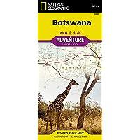 Botswana (National Geographic Adventure Map (3207))