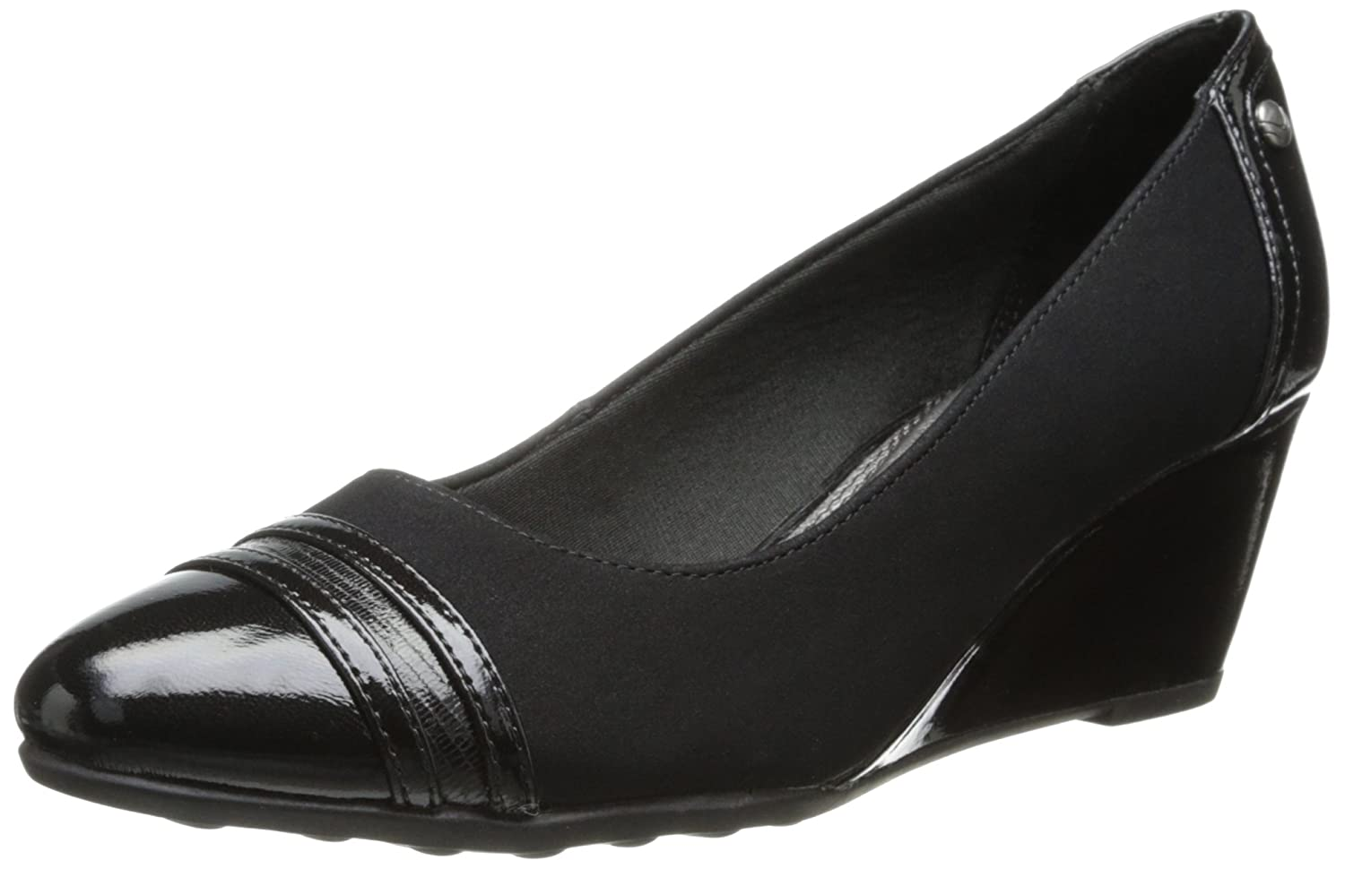 LifeStride Frauen Julianna Runder Zeh Pumps mit Keilabsatz