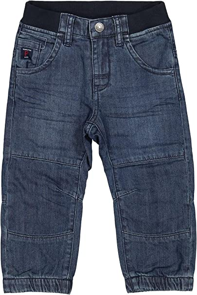 07e2c56d4792 Amazon.com: Polarn O. Pyret Lined Denim Joggers (Baby) - 1-1.5 Years ...