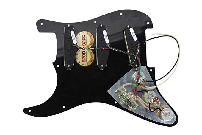 Amazon Dimarzio Area 58 61 Lincoln Brewster Loaded Pickguard Prewired Toaw Musical Instruments: Lincoln Brewster Guitar Wiring Schematics At Eklablog.co