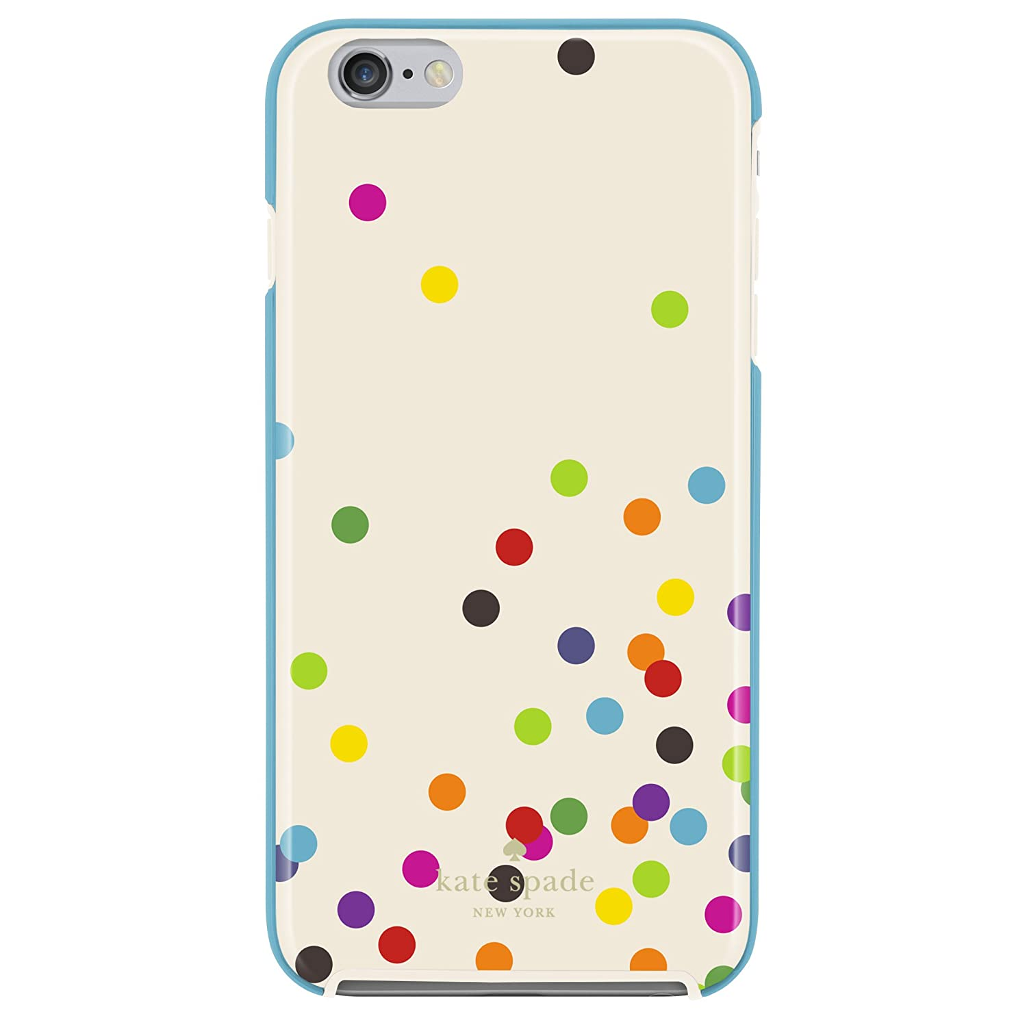 best service 2c2cb 83563 kate spade new york iPhone 6s Plus Case [Shock Absorbing] Cover fits both  iPhone 6 Plus, iPhone 6s Plus - Confetti Dot Multi