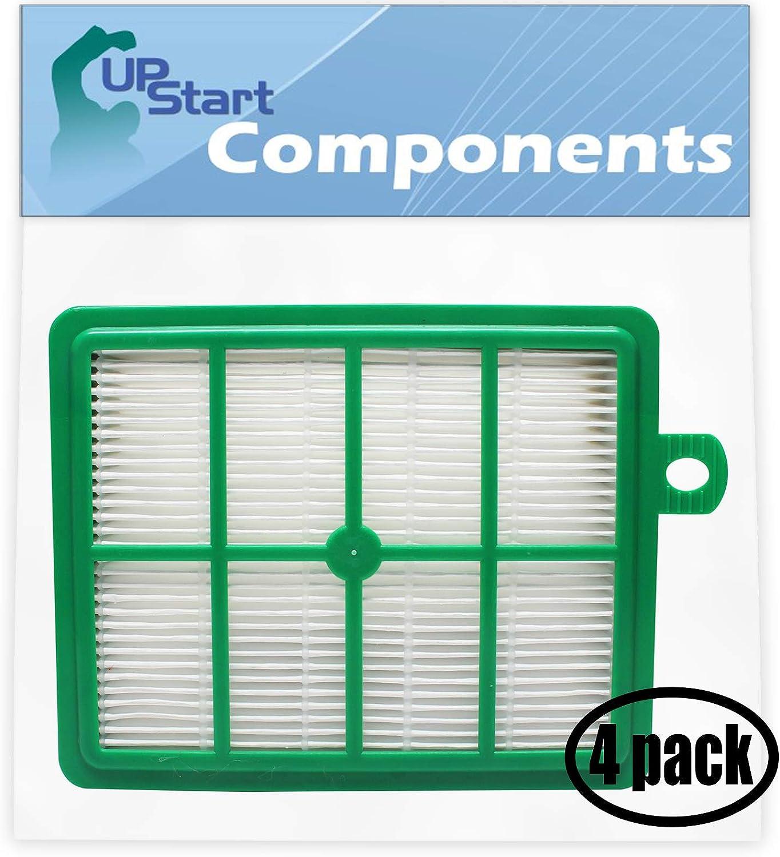 Upstart Battery 4-Pack Replacement for Eureka SP012 Vacuum HEPA Filter - Compatible with Eureka 60286C, HF-1 HEPA Filter