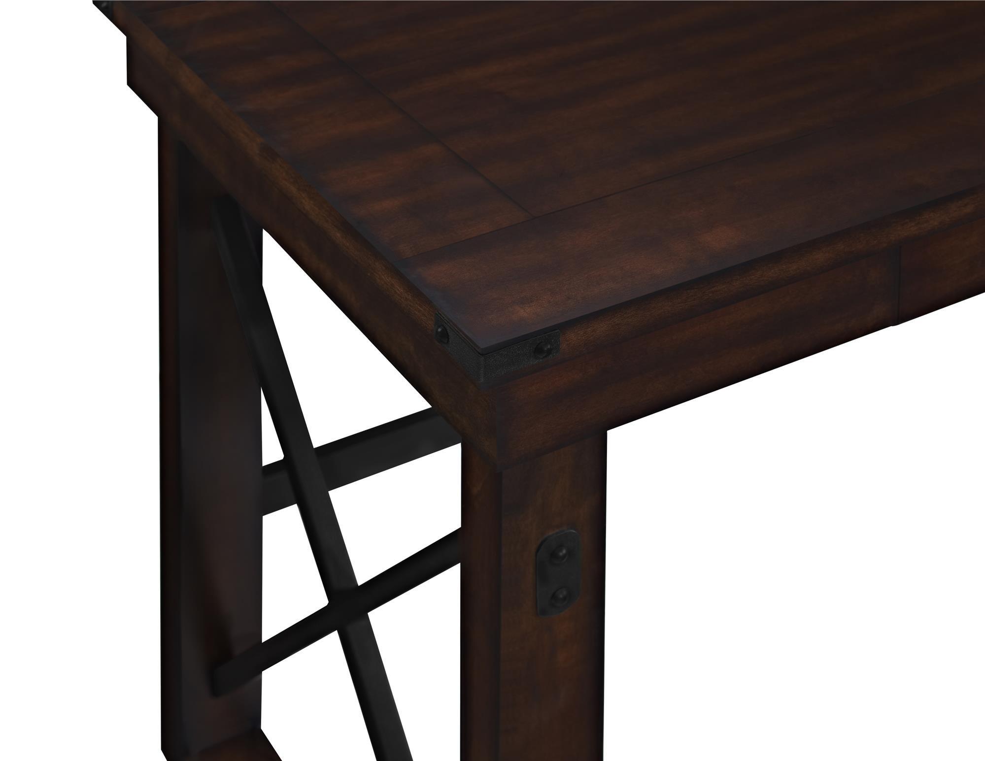 Ameriwood Home Wildwood Wood Veneer  Desk, Espresso by Ameriwood Home (Image #3)
