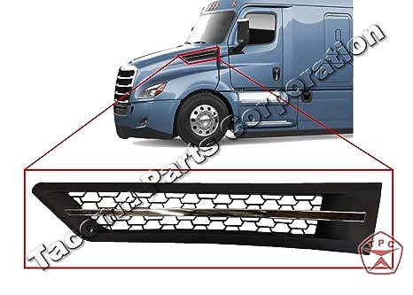 Amazon com: New Freightliner Cascadia Side Hood Vent | Black