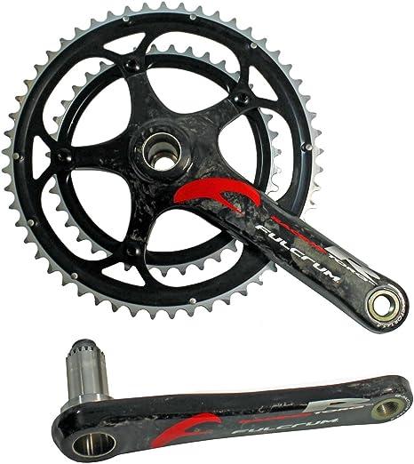 Fulcrum Torq R Racing carbon Guarnitura Guarnitura per bicicletta da corsa 53//39/denti 170//175/mm