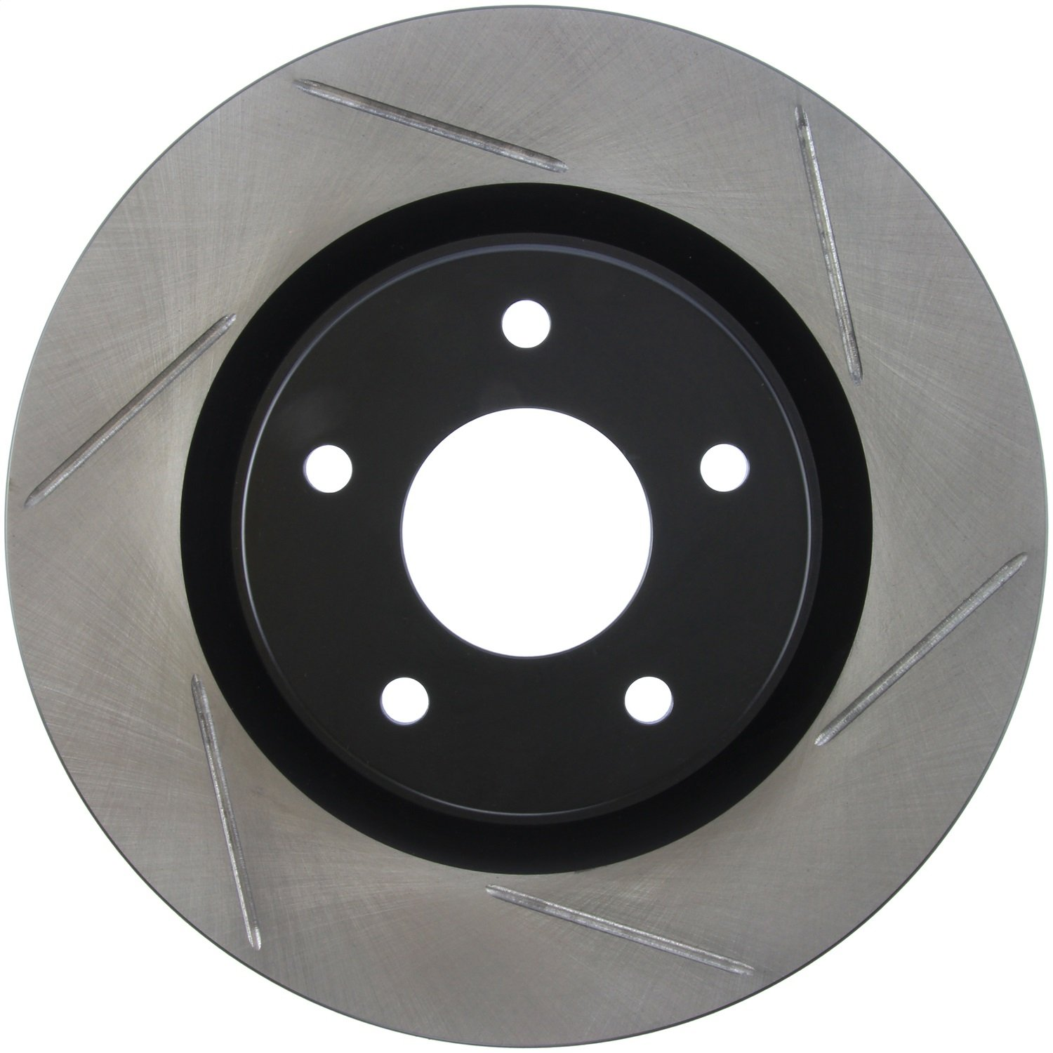 Left StopTech 126.42108SL Sport Slotted Rotor