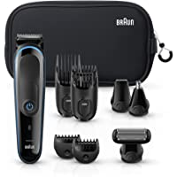 Braun Hair Clippers for Men MGK3980, 9-in-1 Beard Trimmer, Ear and Nose Trimmer, Body Groomer, Detail Trimmer, Cordless…