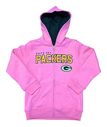 b803395a Amazon.com: Green Bay Packers Girls Youth Pink