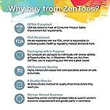 ZenToes Toe Separators with 2 Loops - Pack of 4