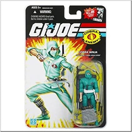 Amazon.com: GI Joe 25th Anniversary Cobra Ninja Viper Figura ...